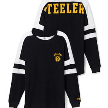 Pittsburgh Steelers Pocket Varsity Crew - PINK - Victoria's Secret