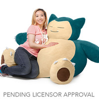 Pokemon Snorlax Bean Bag Chair for Collectibles | GameStop