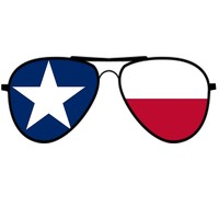 'Texas Flag Sunglasses' by Swigalicious