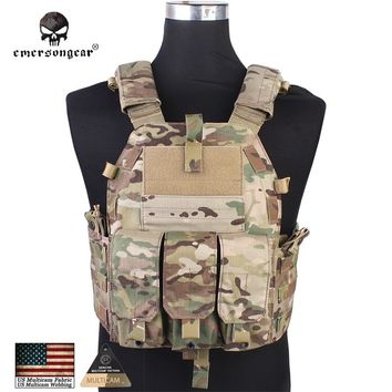 Emersongear Tactical Vest Airsoft Combat 094K M4 Pouch Body Armor Emerson Gear Military Equipment 7356