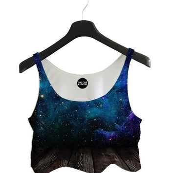 Into Space Crop Top