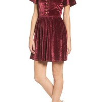 Stone Row Velvacious Dress | Nordstrom