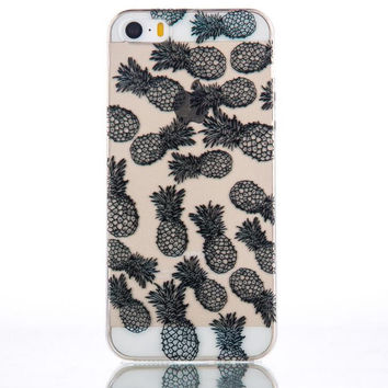 Pineapple iPhone 5s 6 6s Plus Case Cover + Free Gift Box