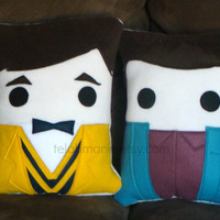 Blaine Anderson, Glee, Kurt, cushion, throw pillow