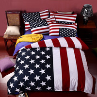 Fashion America British Flag Bedding Set Cartoon Hello Kitty Doraemon 3d Bedding Sets Queen Twin Size Bed Linen 4pcs Bedclothes