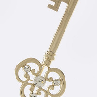 Skeleton Key Brooch