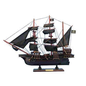 Wooden Calico Jack's The William Model Pirate Ship 20""