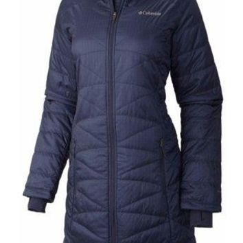 Columbia Mighty Lite  Hooded Jacket (Color: Nocturnal)