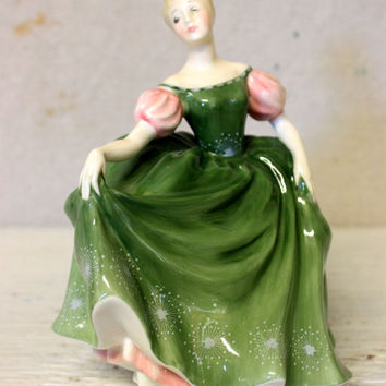 royal doulton Michele figurine // hn2234 // collectible china porcelain girl figurine