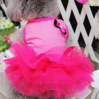 Dog Skirt Princess Tutu Dress