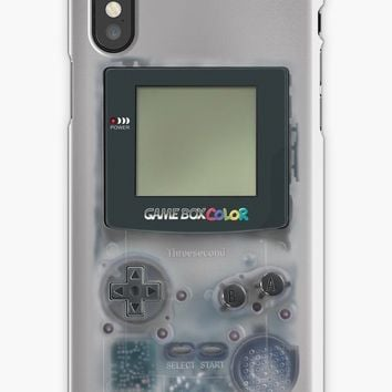 'Classic transparent white grey mini video games' iPhone Case/Skin by Galih Sanjaya Kusuma wiwaha
