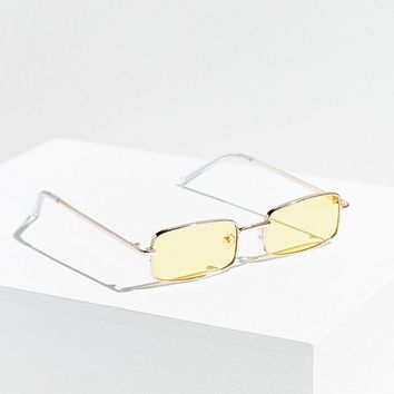 Stormi Slim Rectangle Sunglasses | Urban Outfitters