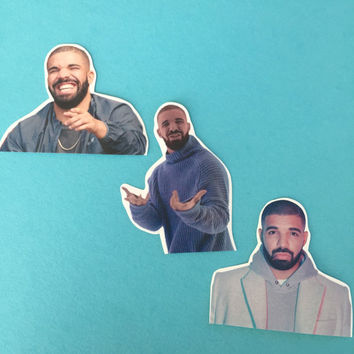 Drake  Champagne Papi Sticker Set