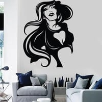 Wall Stickers Vinyl Decal Super Sexy Girl Gothic Modern Room Decor  Unique Gift (ig1776)