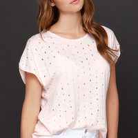 Slice of Heaven Blush Pink Tee