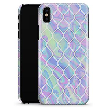 Iridescent Dahlia v4 - iPhone X Clipit Case