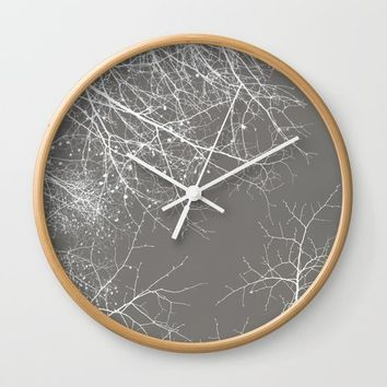 Branches Impressions I Wall Clock by ARTbyJWP