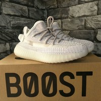 """Adidas X Yeezy"" Unisex Sport Casual Fashion Reflective Running Shoes Couple Sneakers"