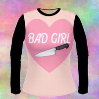 BAD GIRL long sleeve shirt