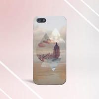 Geometric x Metropolitan x Ocean Case for iPhone 5 iPhone 5S iPhone 4 iPhone 4S and Samsung Galaxy S5 S4 & S3