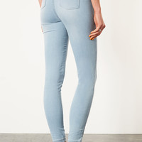 Jersey High Waist Jeggings - Leggings - Clothing - Topshop USA