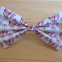 Skitty Pokemon Inspired Hair Bow ... OR ... Bow Tie