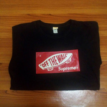Supreme off The Wall skate Hiphop vintage