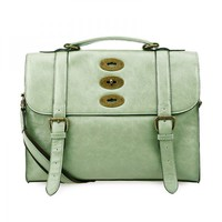 Vintage Cambridge Satchel - Green on Luulla