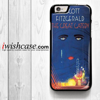 Cover Book The Great Gatsby for iPhone 4 4S 5 5S 5C 6 6 Plus , iPod Touch 4 5  , Samsung Galaxy S3 S4 S5 S6 S6 Edge Note 3 Note 4 , and HTC One X M7 M8 Case
