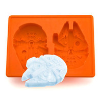 Star Wars Millennium Falcon Silicone Ice Tray - buy at Firebox.com