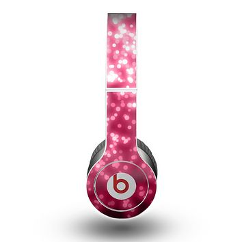 The Glowing Unfocused Pink Circles Skin for the Beats by Dre Original Solo-Solo HD Headphones