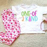 One of a kind graphic kids Tshirt. Sizes 2T, 3t, 4t, 5/6T funny graphic kids shirt, toddler girls clothing, kids girls, girls shirt