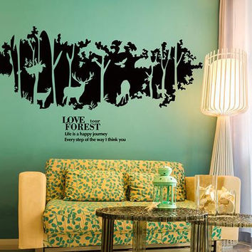 Nursery Deer Wall Decal