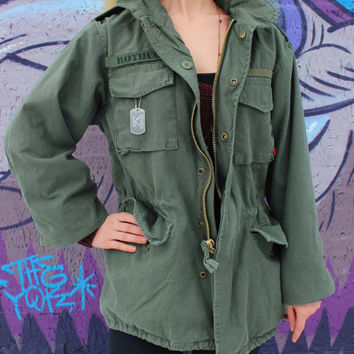 Vintage M-65 Field Jacket Assorted Colors and Sizes - Free US Shipping