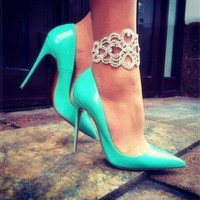 2016 hot sale Women pumps Red Bottom Shoes High Heels Shoes Luxury Designer good quality Leather Wedding Shoes sapatos femininos