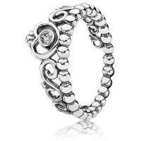 Authentic Pandora Jewelry - My Princess Ring w-CZ