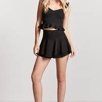 Ruffled Swing Skort