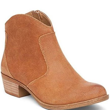 Almond Belia Booties By Lucky Brand