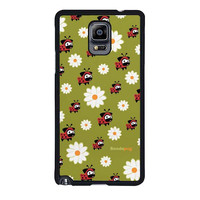 lady pug pattern case for samsung galaxy note 4 note 3 2