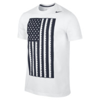 Nike U.S. Core Plus Men's T-Shirt Size 2XL (White)