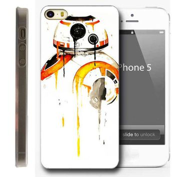 DCK9M2 BB-8 Star Wars Phone Case for Iphone 5 5S