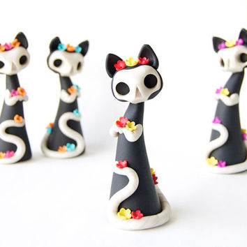 Day of the Dead Cat by Bonjour Poupette
