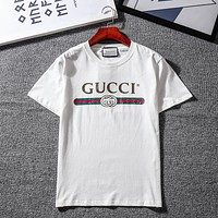 Gucci Woman Men Fashion Tunic Shirt Top Blouse
