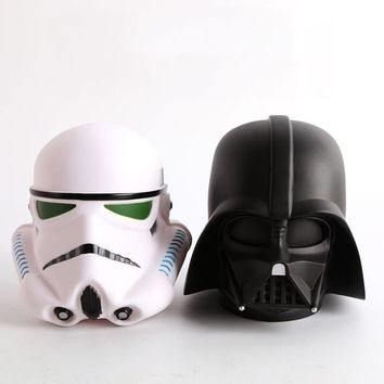 Star Wars Force Episode 1 2 3 4 5 14cm  Darth Vader Stormtrooper BB8 Cute Coin Bank Piggy Bank Money Saving Box Money box Figure Box Toy For Kids Gift AT_72_6