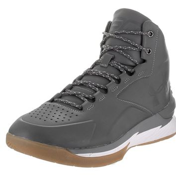 Under Armour Men's UA Curry 1 Lux Mid Lth Basketball Shoe