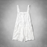 lace shortalls