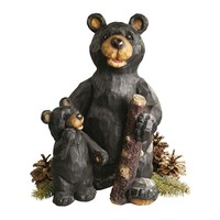 SheilaShrubs.com: Black Forest Bear Pair Sculpture JE228500 by Design Toscano: Garden Sculptures & Statues