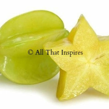 Star Fruit Tree Seeds -  Averrhoa carambola - Tropical Seeds - Exotic Seeds - Houseplant