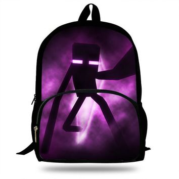 16-Inch 2017 Hot Sexy Character Backpacks cartoon game Print Bag For School Boys Girls Backpacks For Students