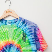 Pineapple Tie Dye T-Shirt